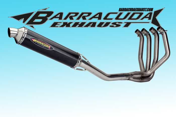 Barracuda RS3 Series Kawasaki Z 1000J-R 81-83 4-1 compleet systeem Road Legal/EEC/ABE homologated
