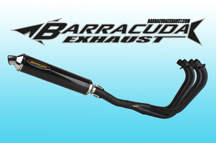Barracuda RS3 Series Suzuki GSX 1100 F 88-96 4-1 compleet systeem Road Legal/EEC/ABE homologated