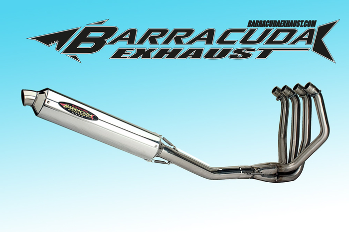 Barracuda RS3 Series Yamaha XJR 1300 07- 4-1 compleet systeem Road Legal/EEC/ABE homologated