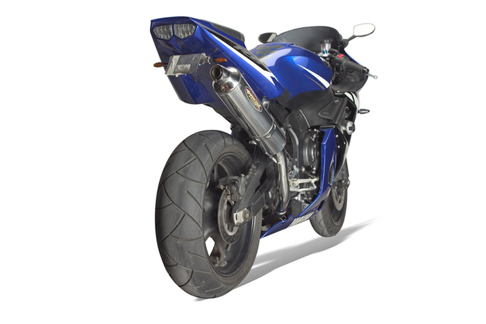 Barracuda RS3 Yamaha R6 + S  Slipon Highup mit EG-ABE