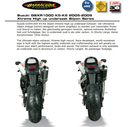 Barracuda RS3 Suzuki GSX-R 1000 K5-K6 05-06 Slipon Highup...
