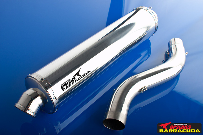 Barracuda GP-EVO F450 Triumph Daytona 955i 02-06 SLO High up mit ABE