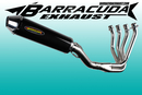 Barracuda RS-R 450 Cone ronde Series Kawasaki ZZR 1400...