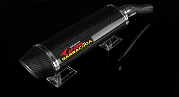 Barracuda RS-R 400 Cone Series Underseat oval Honda CBR 600RR 2005-2006 Slipon