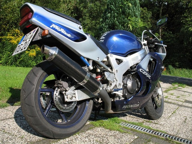 Barracuda RS3 CBR900RR BTO Alu mit ABE oval